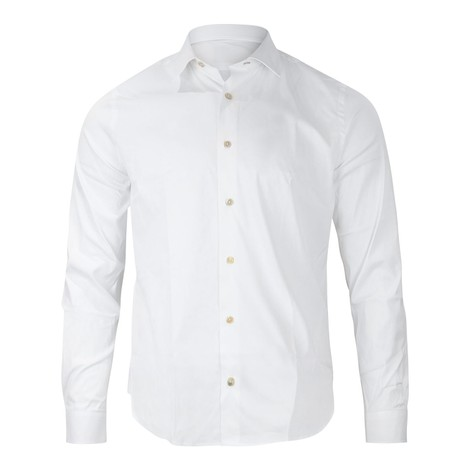 Paul Smith Gents S/C Super Slim Shirt in White