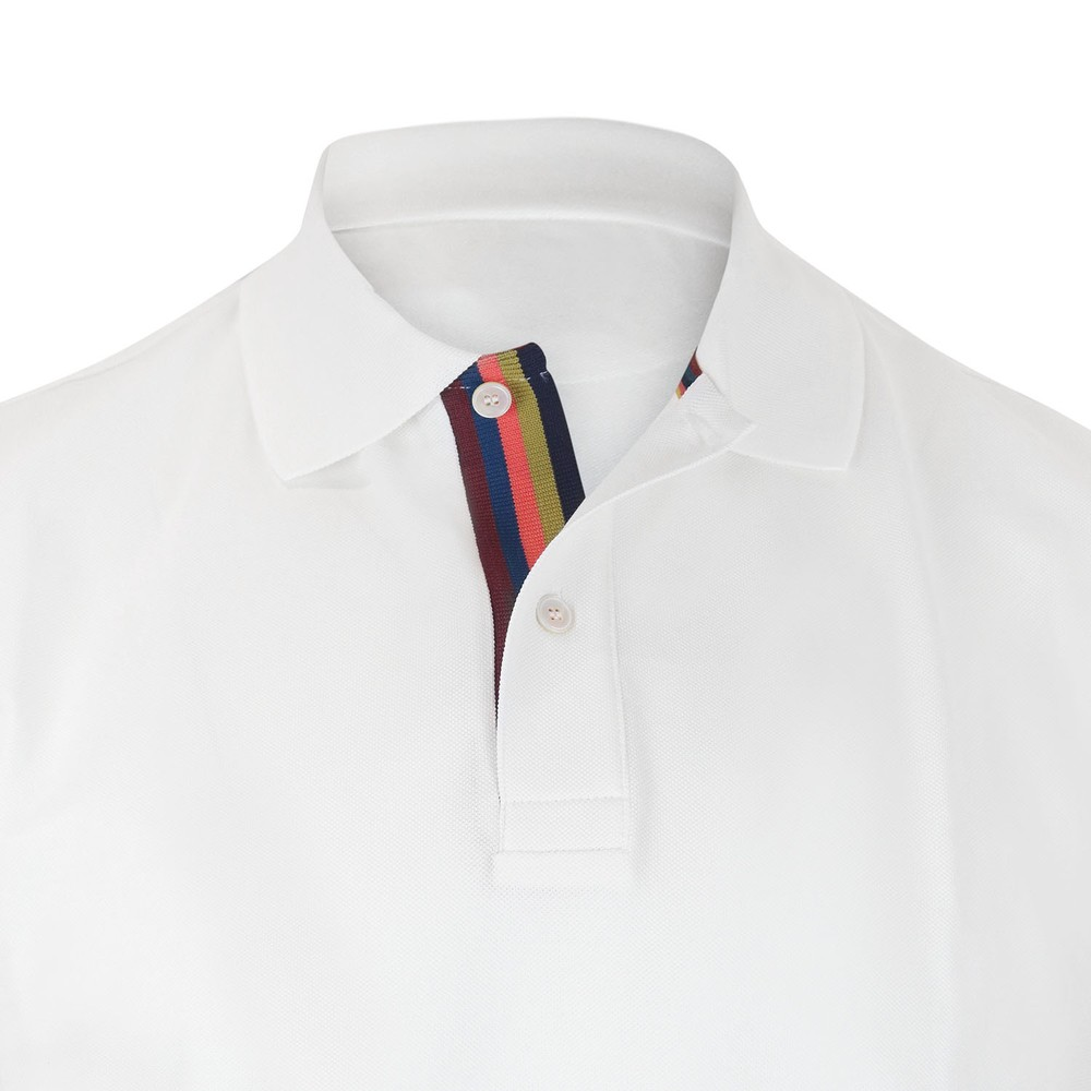 Paul Smith Gents Polo Shirt White
