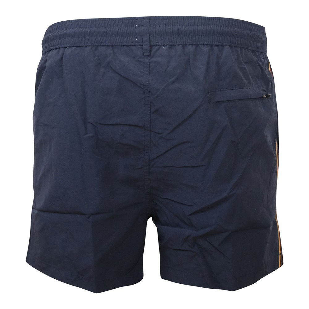 Paul Smith Plain Stripe Swim Shorts Navy