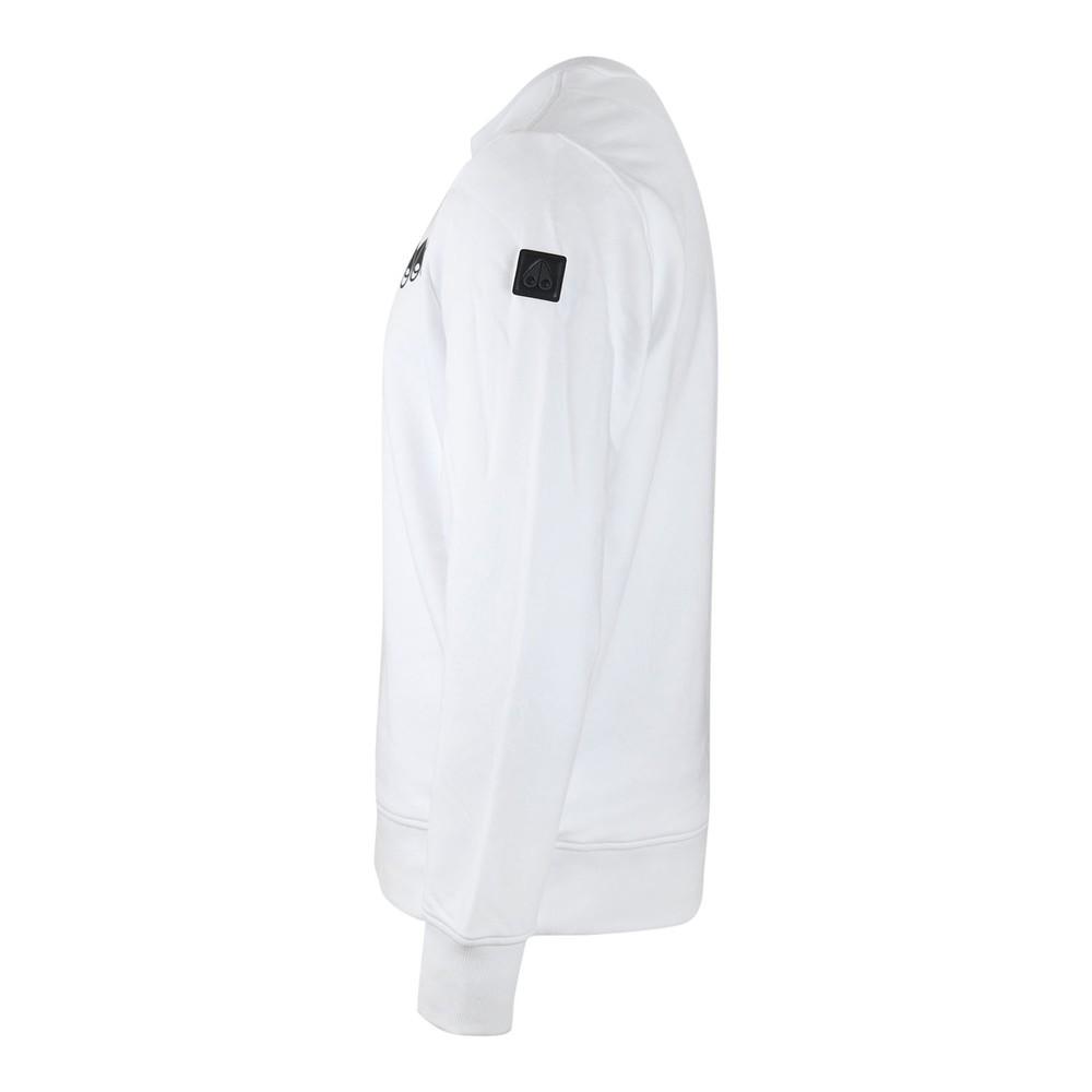 Moose Knuckles Perspective Sweatshirt White
