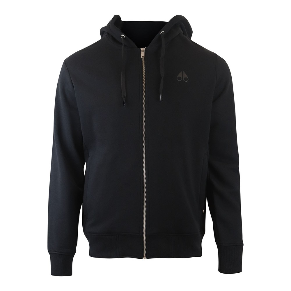 Moose Knuckles Banff Trail Hoodie Black
