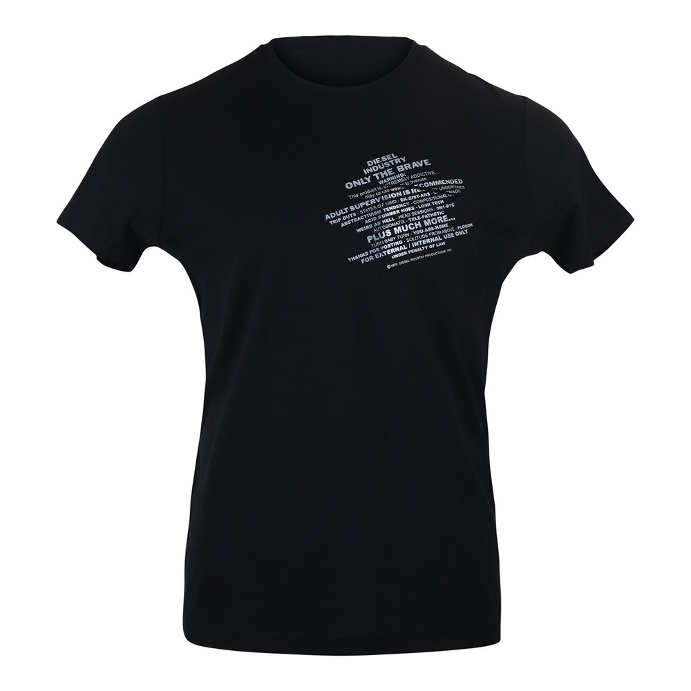 Diesel T-Worky S1 T-Shirt Black