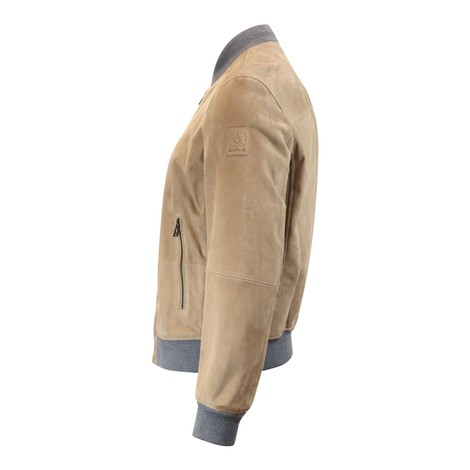 Belstaff Harbour Suede Jacket