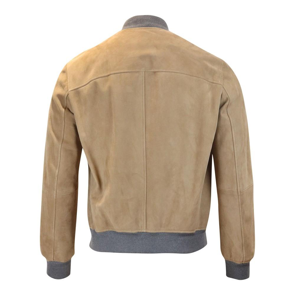 Belstaff Harbour Suede Jacket Beige