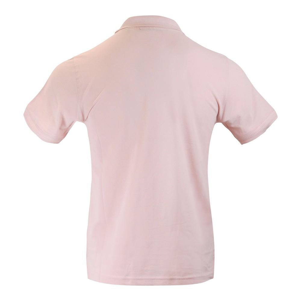 Belstaff Short Sleeve Embroidered Logo Polo Shirt Pink