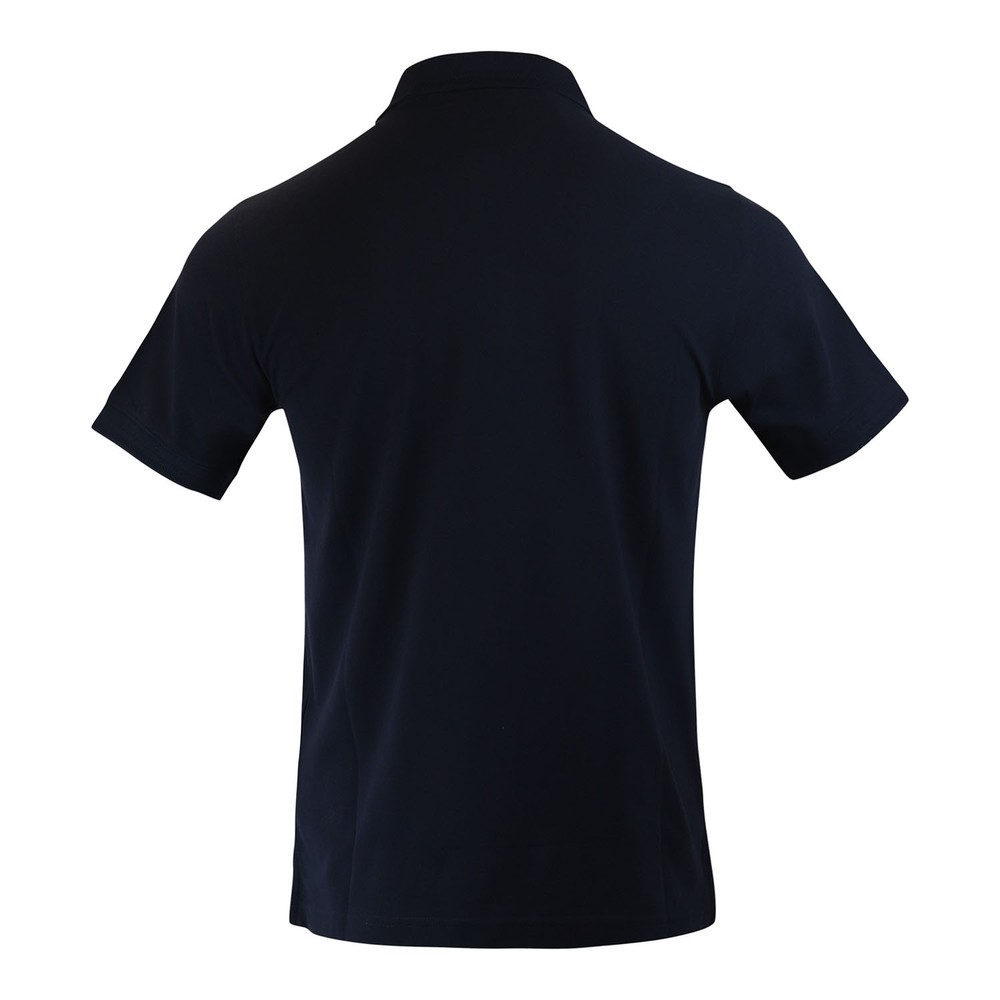 Belstaff Short Sleeve Embroidered Logo Polo Shirt Navy