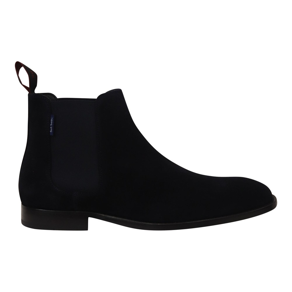PS Paul Smith Gerald Dark Navy Suede Boot Dark Navy
