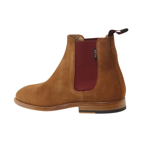 PS Paul Smith Gerald Tan Suede Boot