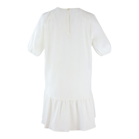 Moschino Boutique Puff Sleeve Short Loose Dress