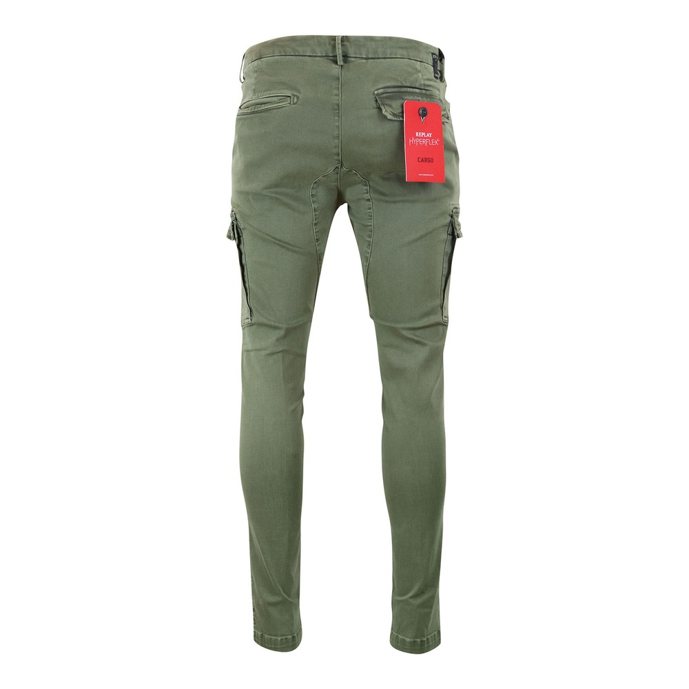 Replay Jaan Soft Denim Jeans With Pocket Green