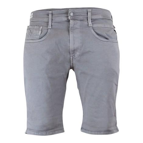 Replay Anbass Hyperflex Stretch Denim Shorts