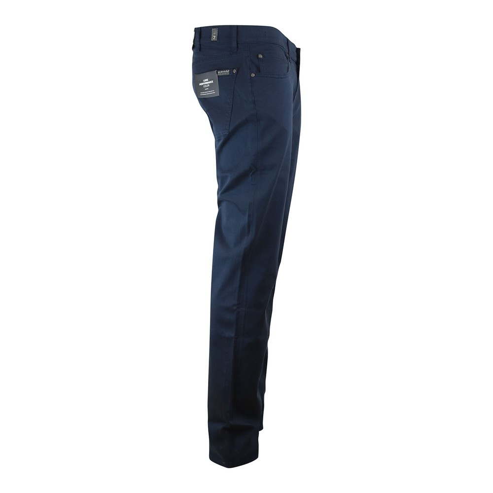 7 For All Mankind Slimmy Luxe Performance Sateen Jeans Dark Blue
