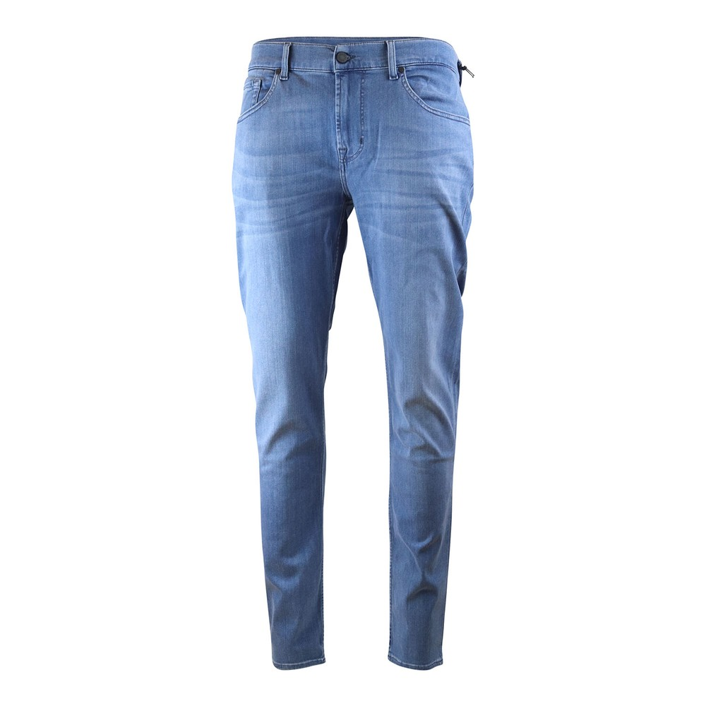 7 For All Mankind Slimmy Tapered Luxe Performance Plus Jeans Light Blue