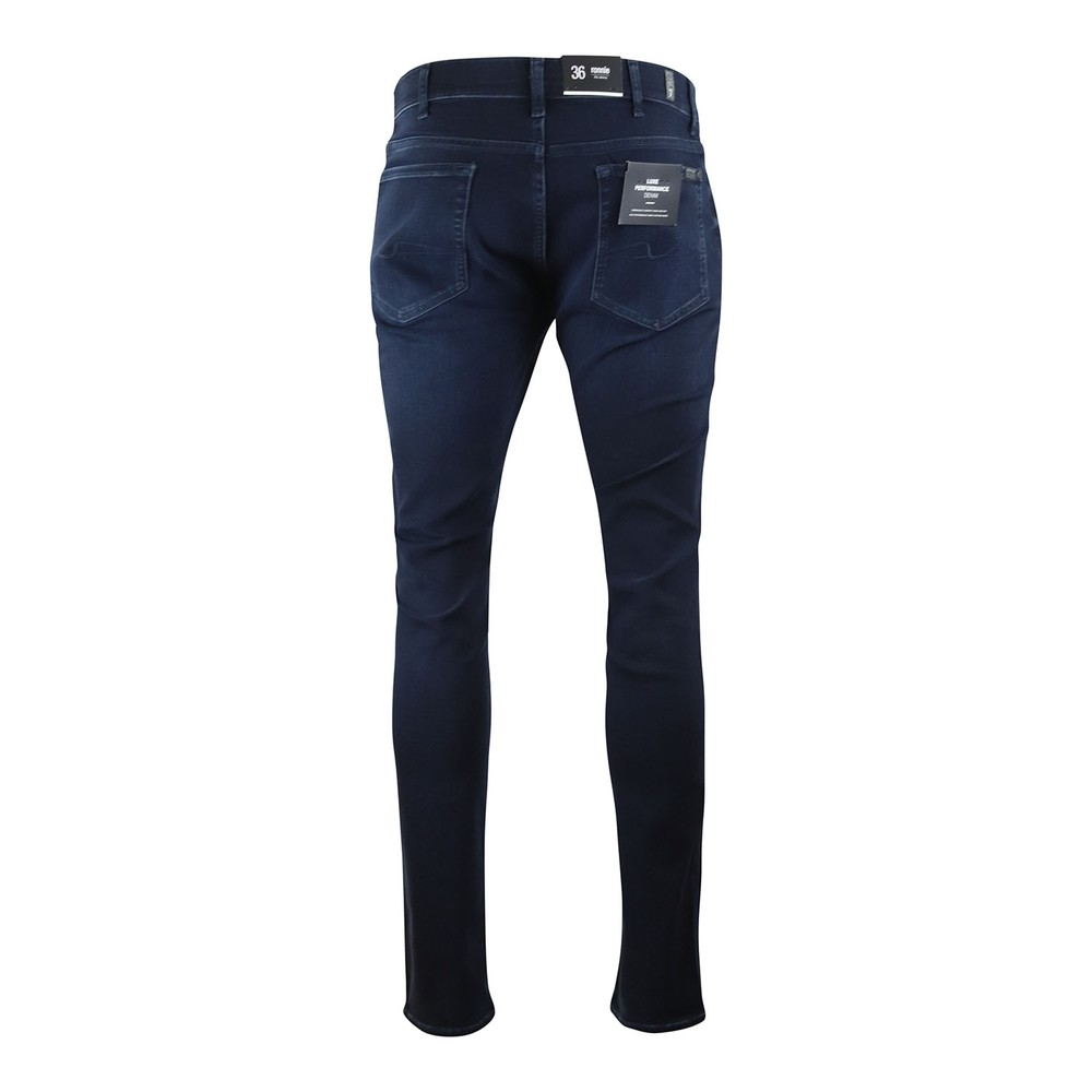 7 For All Mankind Ronnie Luxe Performance Washed Jeans Dark Blue