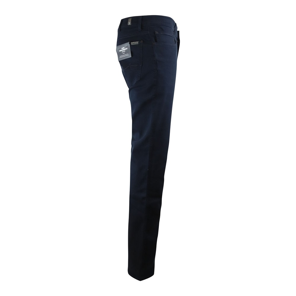 7 For All Mankind Slimmy Luxe Performance Rinse Blue Dark Blue