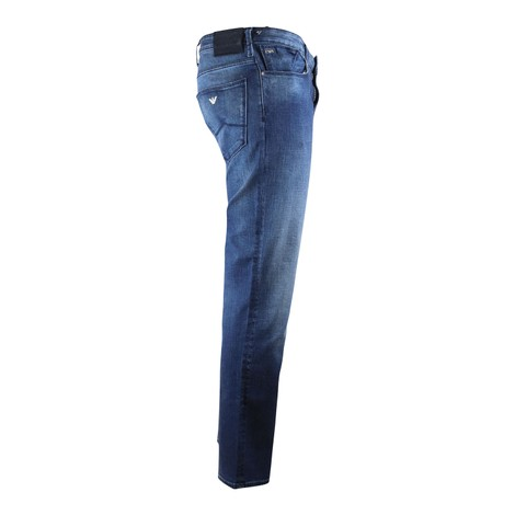 Emporio Armani J06 Mid Wash Jeans