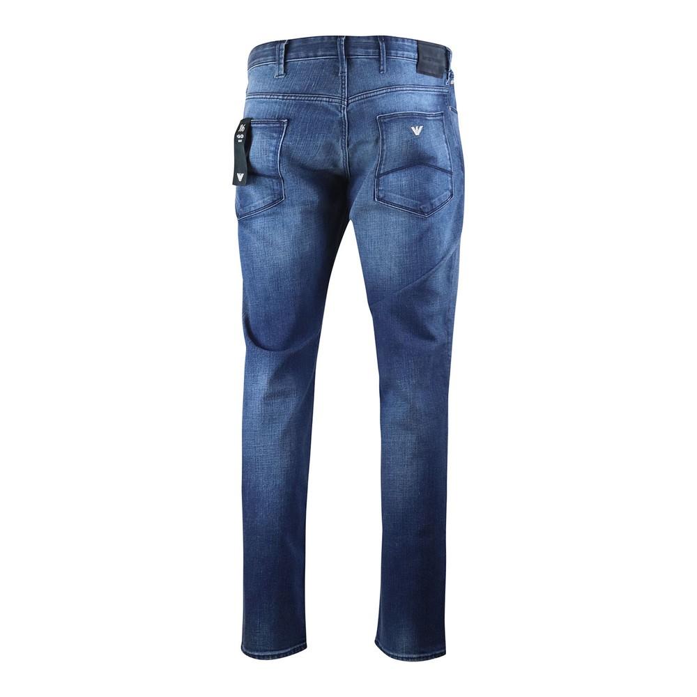 Emporio Armani J06 Mid Wash Jeans Mid Blue