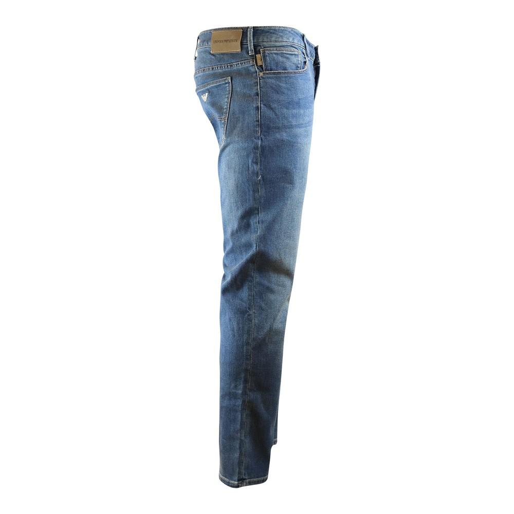 Emporio Armani J06 Light Wash Jeans Light Blue
