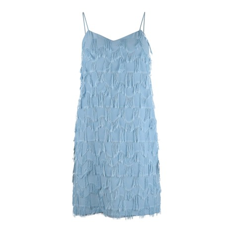 Marella Atelier Strappy Fringed Dress