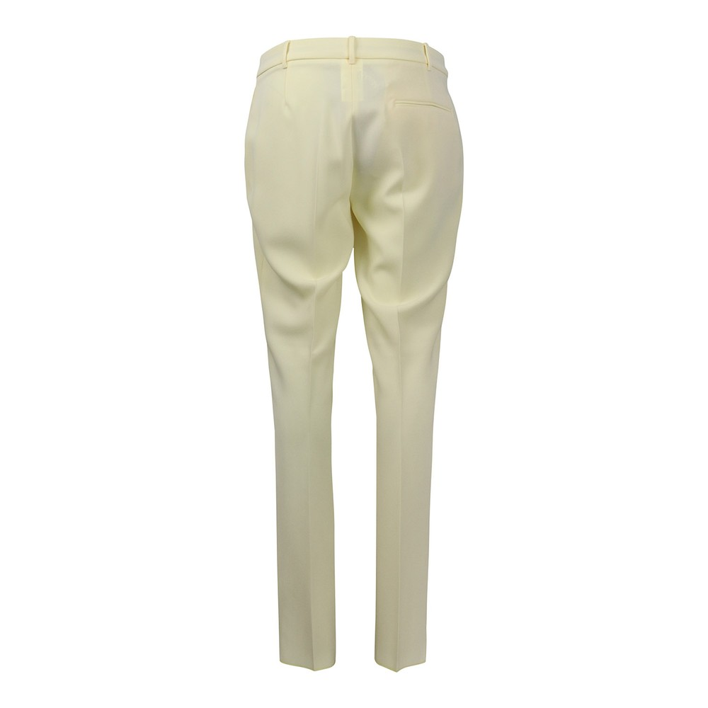 Maxmara Jerta Slim Trousers Lemon