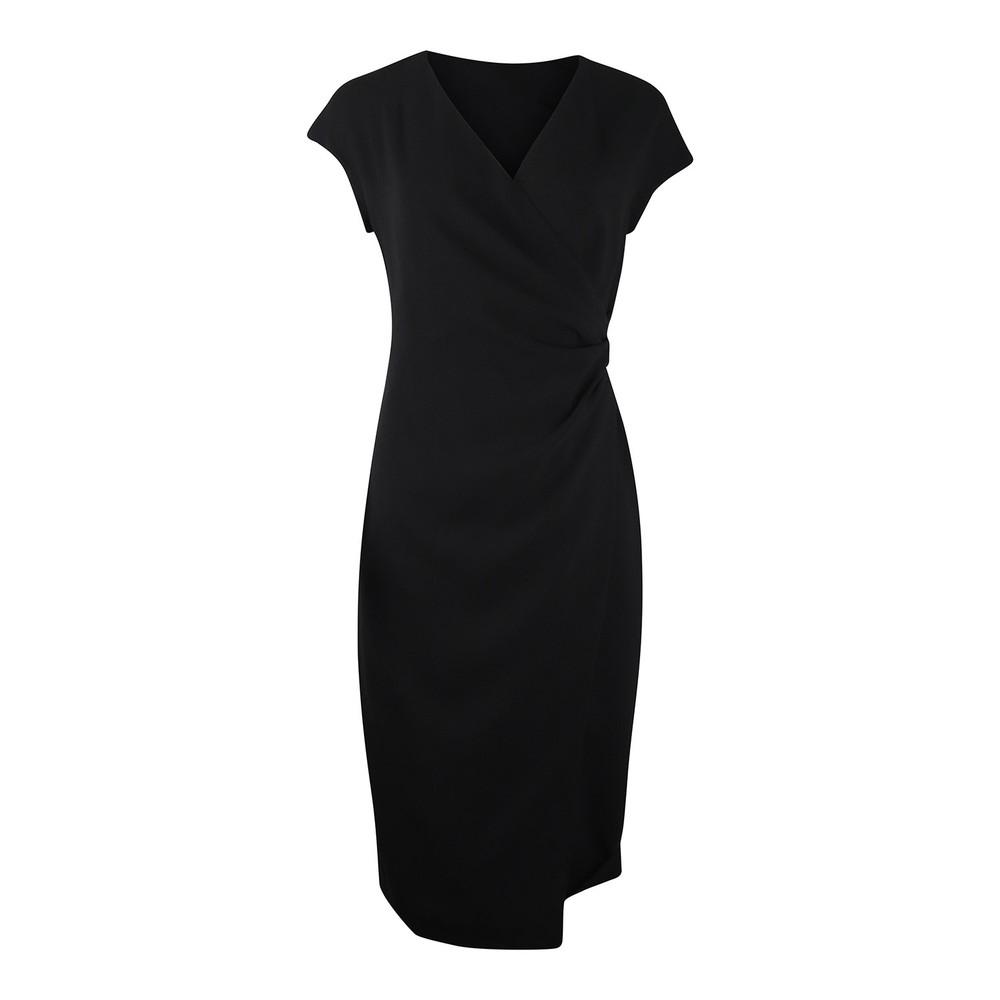 Maxmara Parola Fitted Dress Black