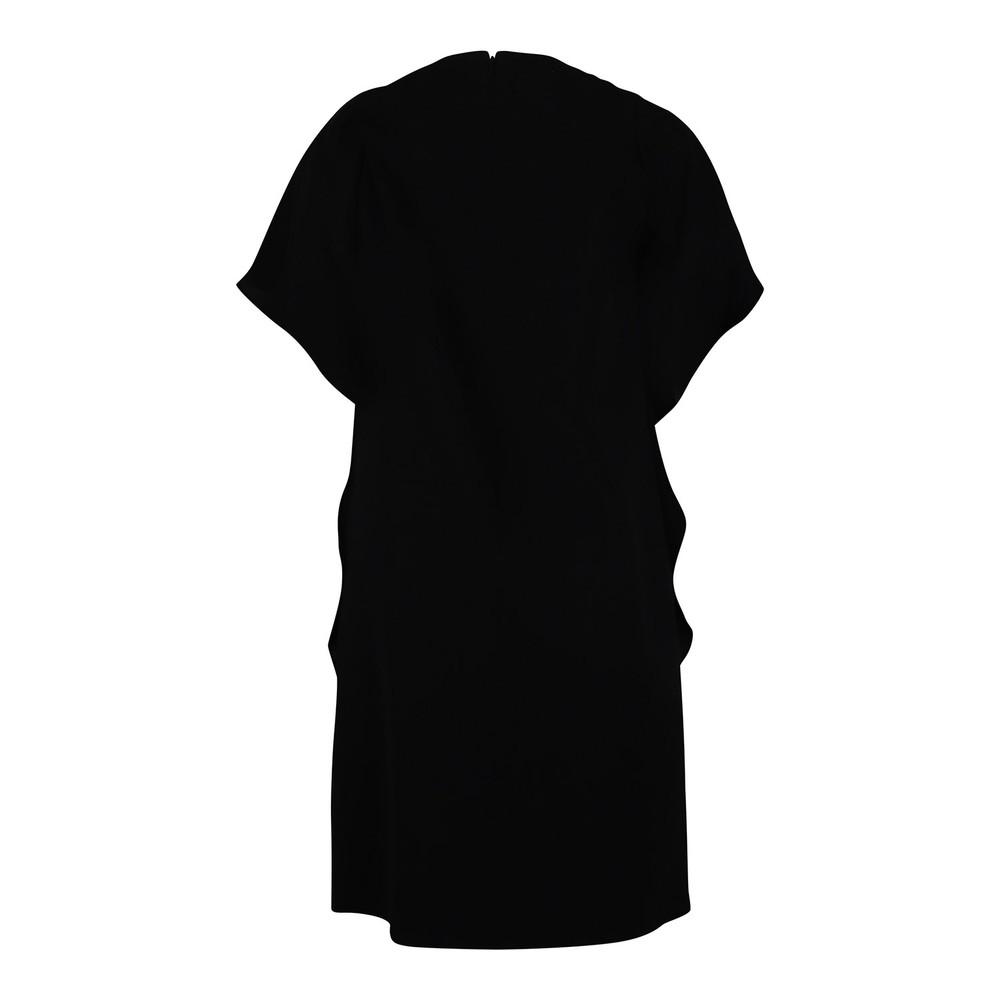 Maxmara Dalida Tunic Frilled Dress Black
