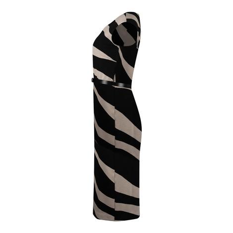 Maxmara Blasone Zebra Jersey Dress