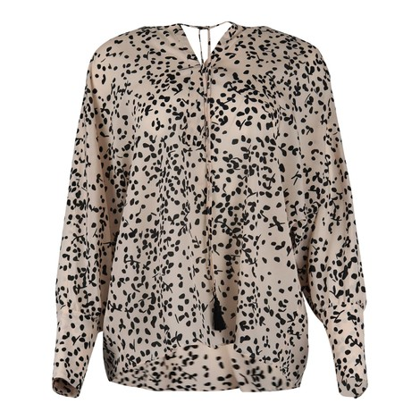 Maxmara Abaco Silk Patterned Blouse