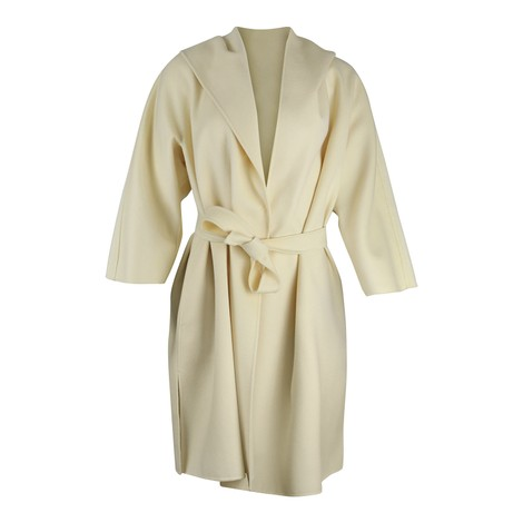 Maxmara Vik 3/4 Sleeve Hooded Coat