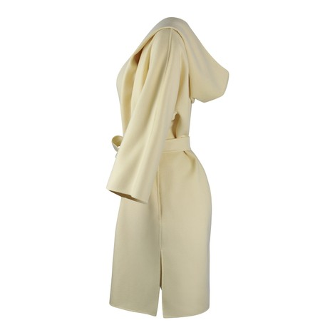Maxmara Vik 3/4 Sleeve Hooded Coat
