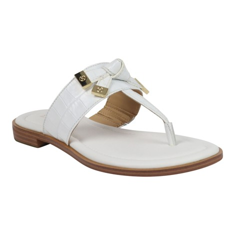 Michael Kors Ripley Leather Thong Slide