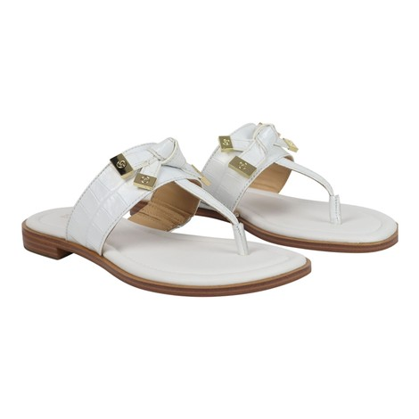 Michael Kors Ripley Leather Thong Slide