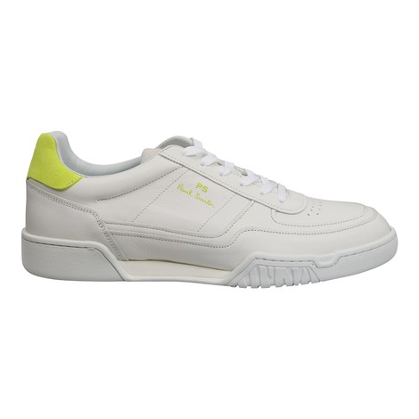 Paul Smith Atlas Fluo Yellow Tab Trainer