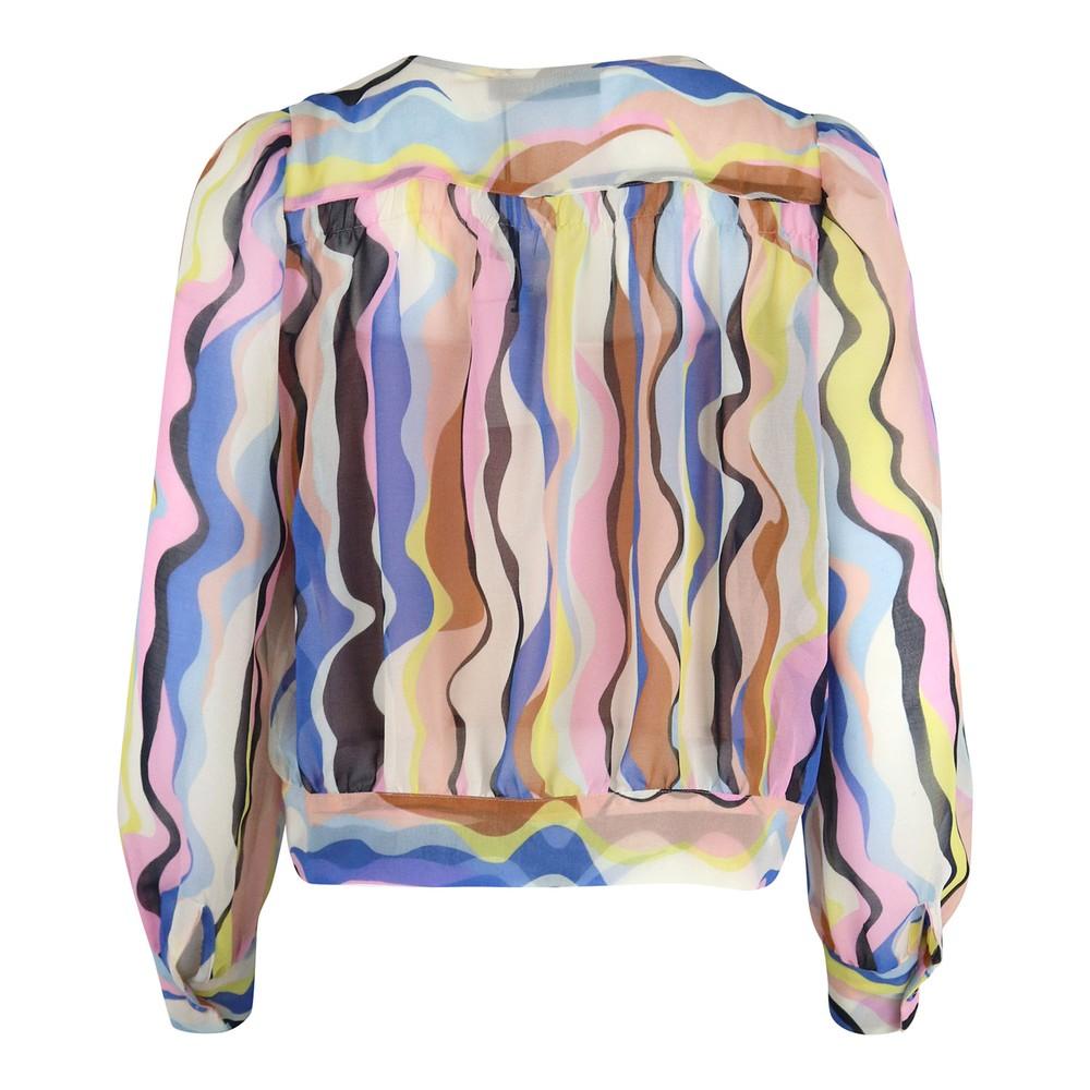 Marella Artista Silk Blouse Multi