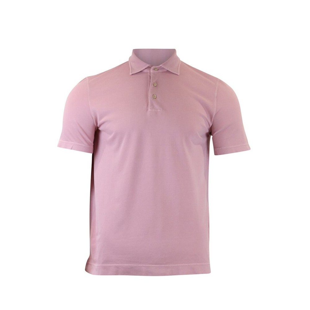 Circolo M/M Piquet Polo Shirt Pink