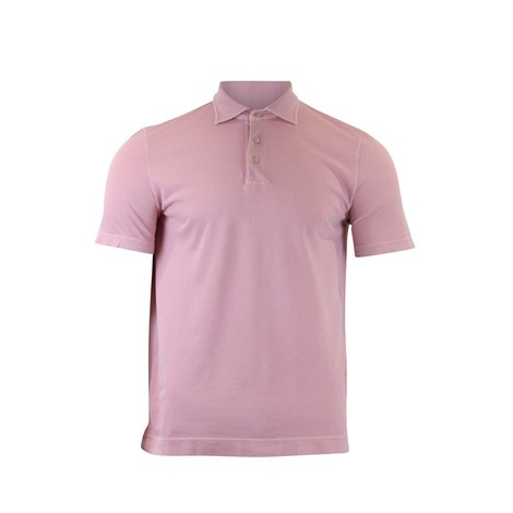 Circolo Polo M/M Piquet  in Pink