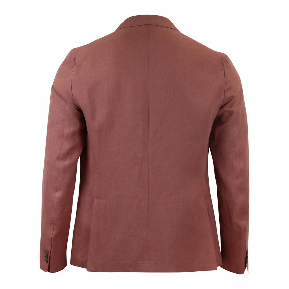 Paul Smith Gents Tailored Fit 2 Button Jacket Pink/Red