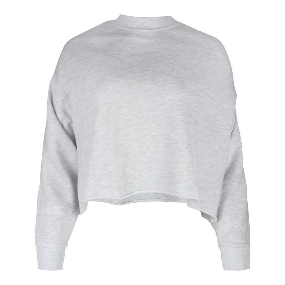 J Brand Wendy Cropped Sweatshirt Grey