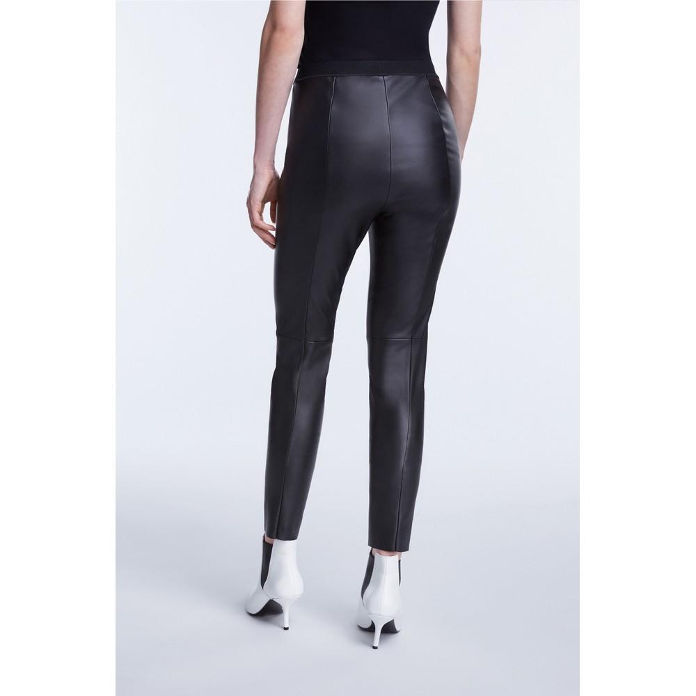 Set Vegan Leather Leggings Black