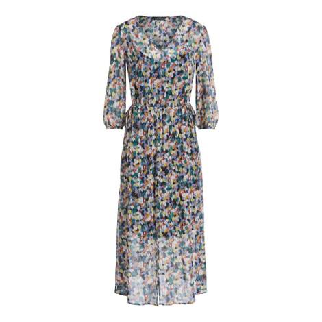 Set Blossom Print Hippy Dress