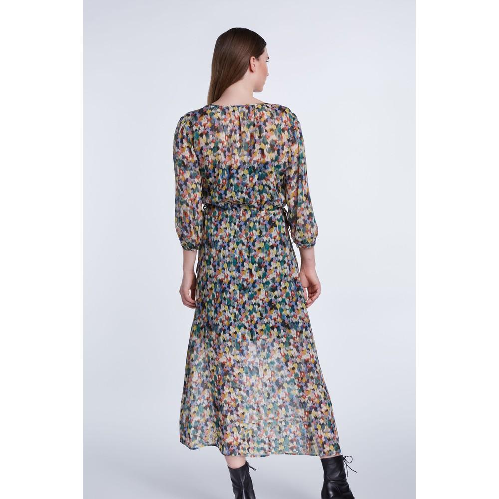 Set Blossom Print Hippy Dress Multi