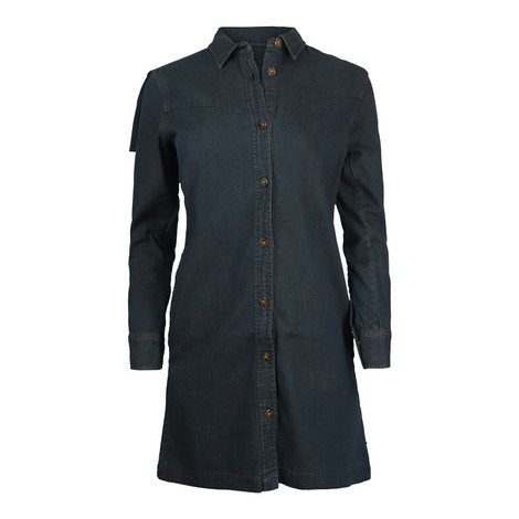 Scotch & Soda Ams Blauw Denim Shirt Dress