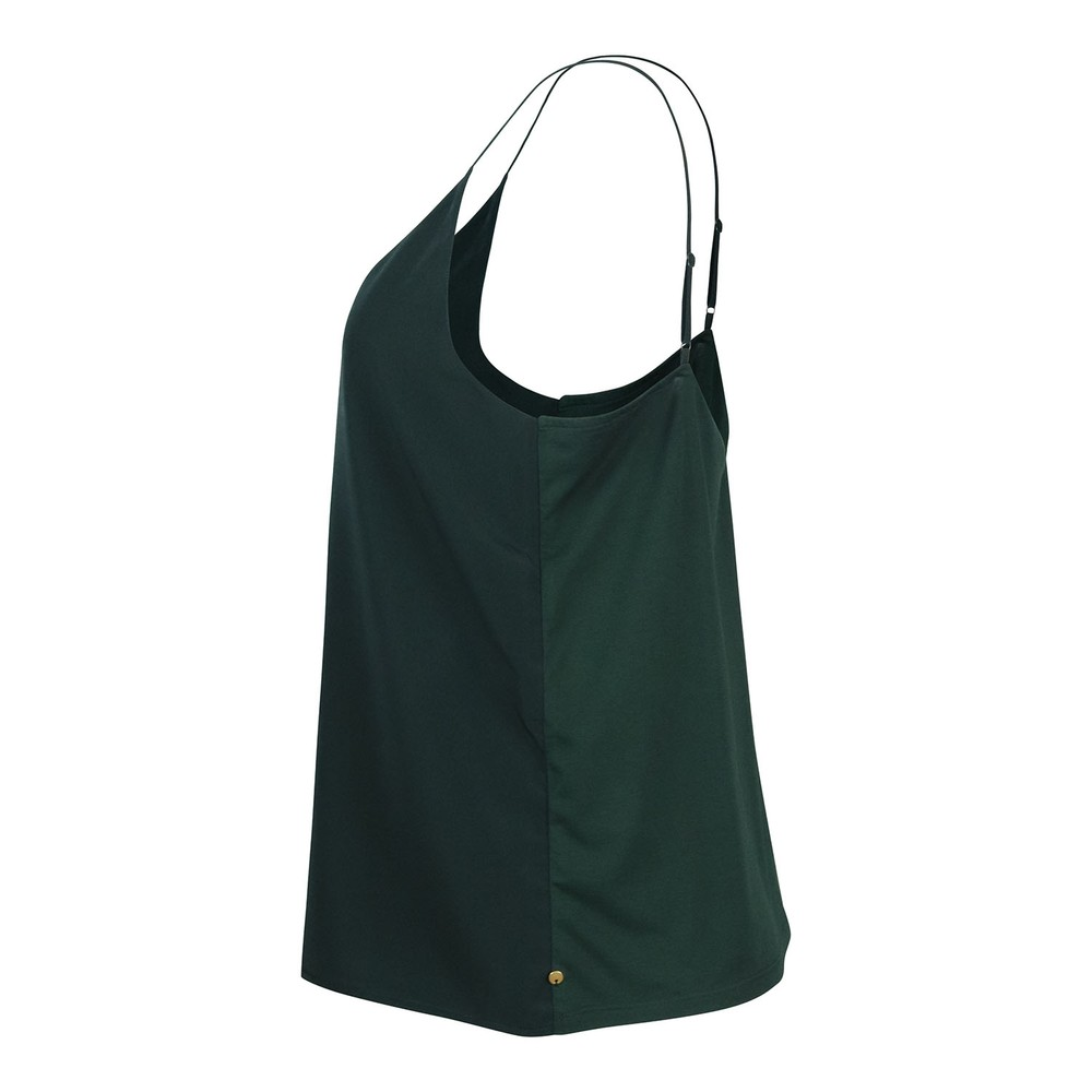 Scotch & Soda Cami With Frontpanel Green