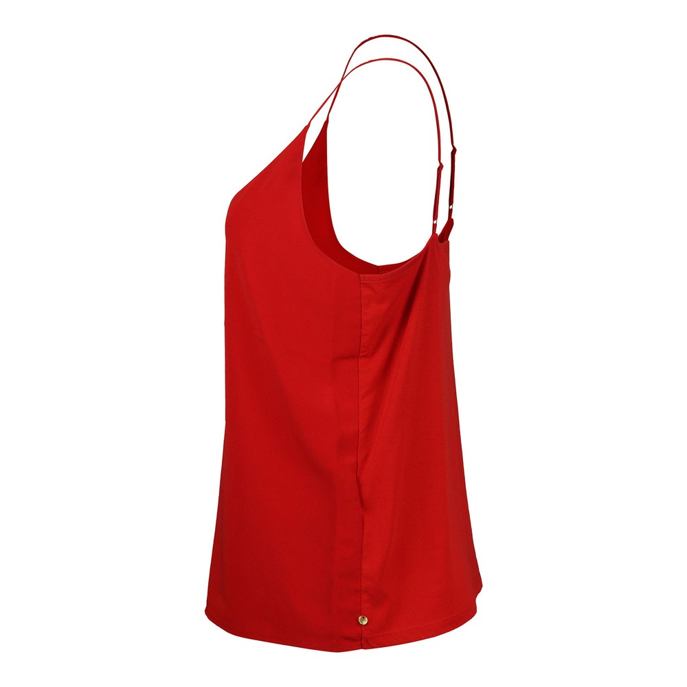 Scotch & Soda Cami With Frontpanel Red