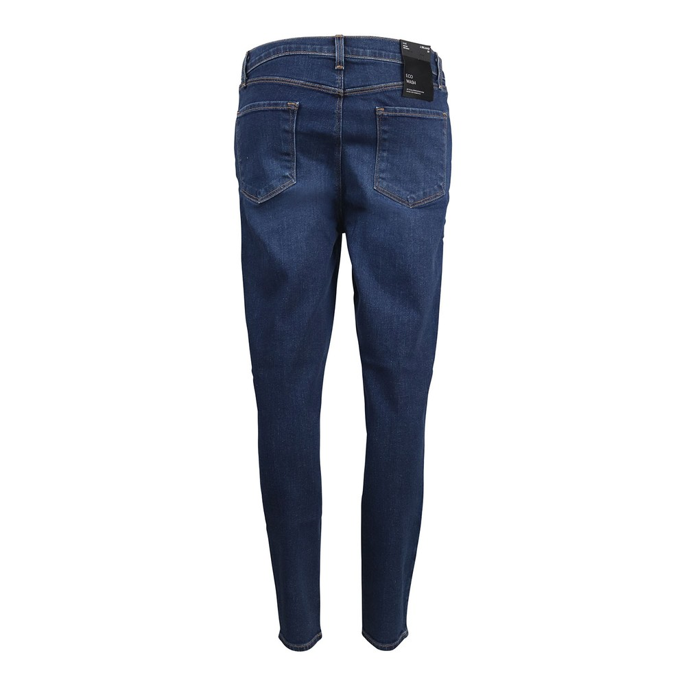 J Brand Lily Arcade High Rise Crop Skinny Jeans Mid Wash Denim
