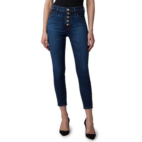 J Brand Lily Arcade High Rise Crop Skinny Jeans