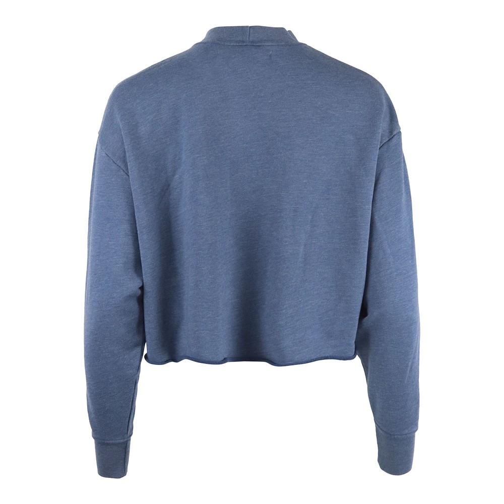 J Brand Wendy Cropped Sweatshirt Blue