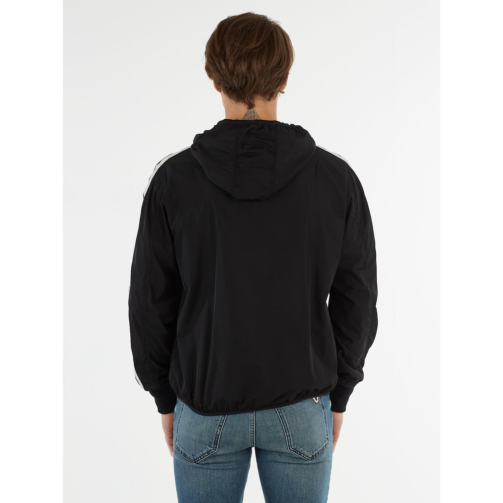 True Religion Windbreaker Jacket Black