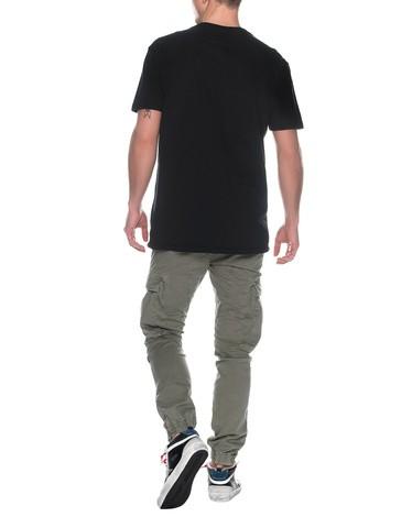 True Religion Crew Neck Buddha Embossed Tshirt Black