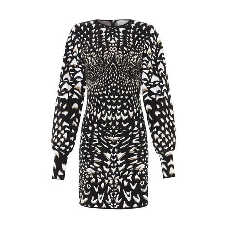 Hayley Menzies  Wings Jacquard Mini Dress